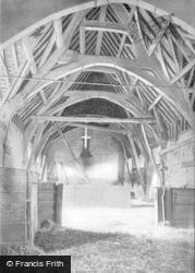 Bradford-on-Avon, The Tythe Barn Interior c.1930