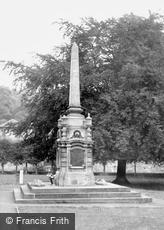 Bradford-on-Avon, the War Memorial c1960