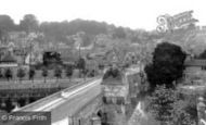 Bradford-on-Avon, Town And Bridge 1900