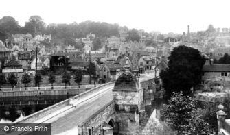 Bradford-on-Avon, Town and Bridge 1900
