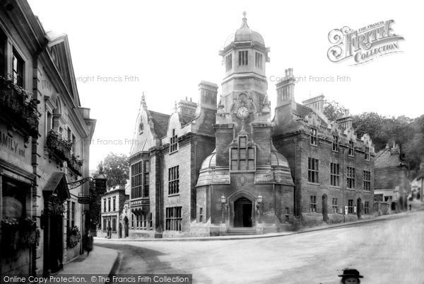 Bradford On Avon, Town Hall 1900