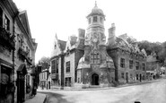 Bradford-on-Avon, Town Hall 1900