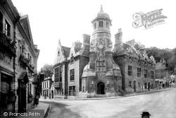 Bradford-on-Avon, Town Hall 1900