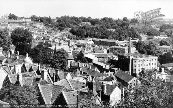Bradford On Avon, View From Tory c.1955