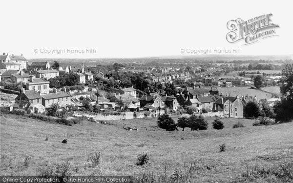 Bradford On Avon, View From Winsley Road c.1955