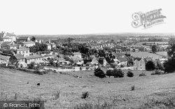 Bradford-on-Avon, View From Winsley Road c.1955