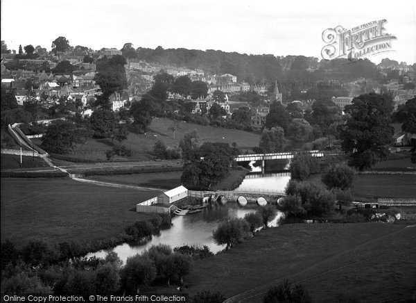 Bradford On Avon, View Of Barton Bridge c.1900