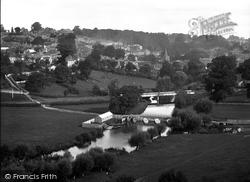 Bradford-on-Avon, View Of Barton Bridge c.1900
