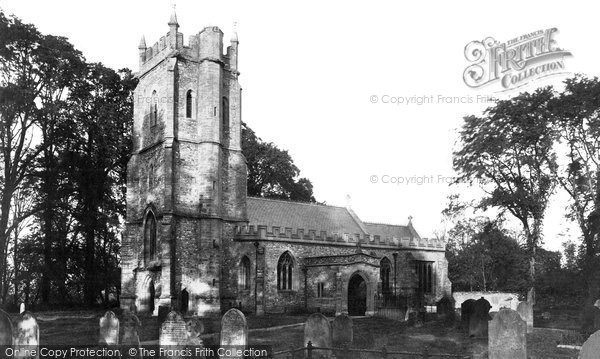 Bradford On Tone, Church Of St Giles c.1869