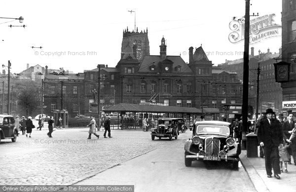 Photo of Bradford, Post Office, Forster Square c.1950