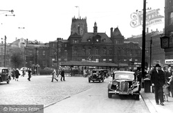 Bradford, Post Office, Forster Square c.1950