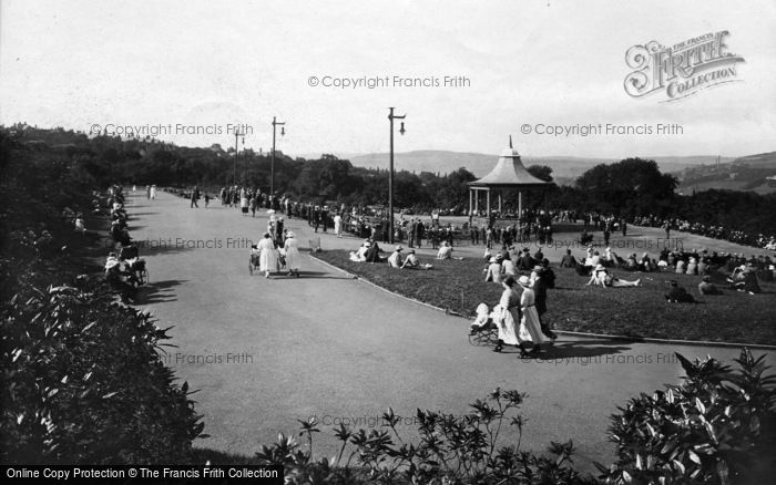 Photo of Bradford, The Bandstand, Lister Park 1923