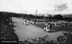 Bradford, The Bandstand, Lister Park 1923