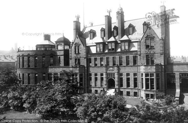 Photo of Bradford, the Children's Hospital 1897