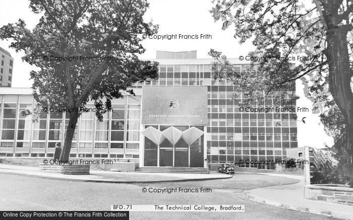 Photo of Bradford, The Technical College c.1965