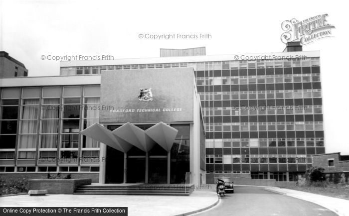 Photo of Bradford, The Technical College c.1965