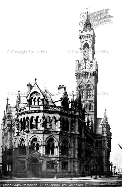 Bradford, The Town Hall 1888