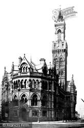 Bradford, The Town Hall 1888