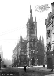Bradford, The Wool Exchange And Market Street 1897