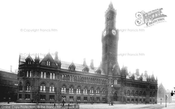 Photo of Bradford, Town Hall 1897
