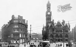 Bradford, Town Hall Square 1903