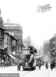 Bradford, Tram In Tyrrell Street 1903