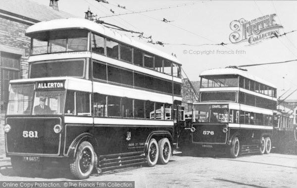 Photo of Bradford, Trolleybuses c.1935