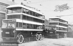 Bradford, Trolleybuses c.1935