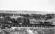 Brading, From The Downs 1890