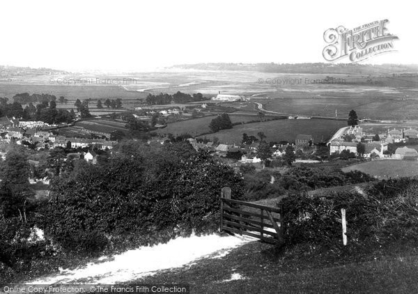 Photo of Brading, the Village c1883