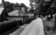 Bradley, Church Lane c.1960