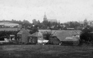 Bradpole, The Village And Holy Trinity Church 1902