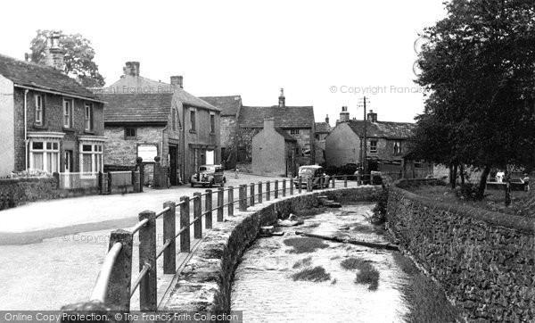 Bradwell, Brookside c.1955