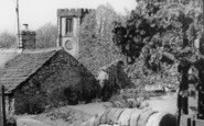 Bradwell, Church From The Steps c.1960