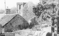 Church From The Steps c.1960, Bradwell