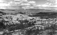 Bradwell, From Bradwell Edge c.1955
