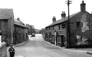 Bradwell, from the Bridge c1955