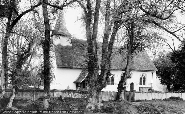 Bradwell, Holy Trinity Church 1907