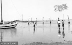 Bradwell-on-Sea, River Blackwater c.1960