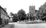 Bradwell-on-Sea, St Thomas's Church c.1955