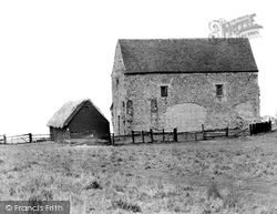 Bradwell-on-Sea, The Chapel Of St Peter-on-The-Wall c.1960