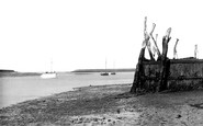 Bradwell-on-Sea, the Quay c1960