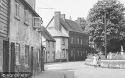 Bradwell-on-Sea, The Village c.1955