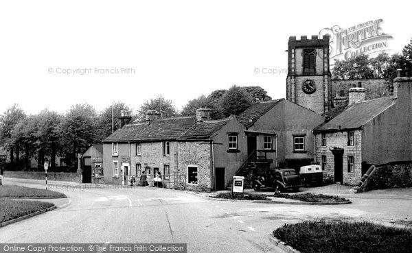 Bradwell, the Church c1955