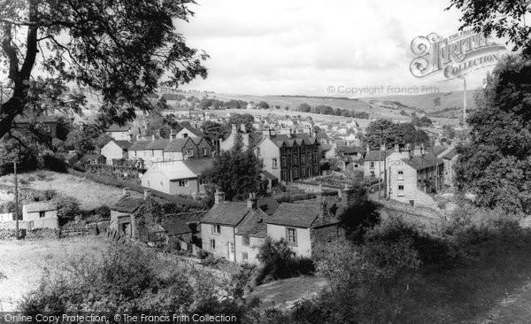 Bradwell, the Hills c1955