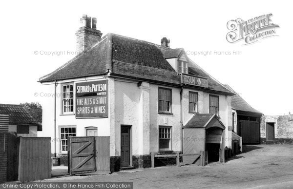 Bradwell, The Sun Inn c.1955
