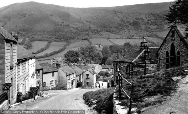 Bradwell, the Village c1955