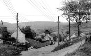 Bradwell, view from Smalldale c1955