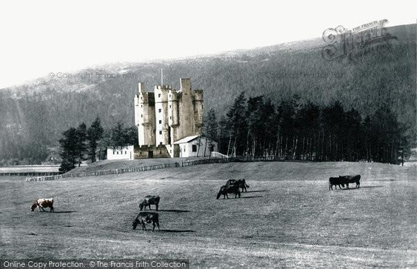 Photo of Braemar, Braemar Castle c.1890