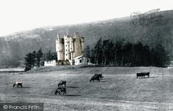 Braemar, Braemar Castle c.1890